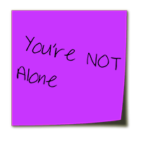 Alone Stickynote
