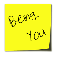 Being You Stickynote